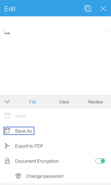 How to Convert the File to PDF File