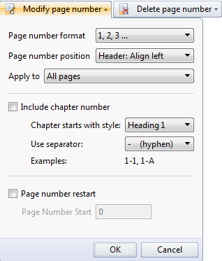 Insert page number in word document with writer insert page or page x of y with the page number ccuart Choice Image